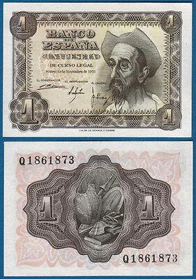 SPANIEN / SPAIN 1 Peseta 1951 UNC  P.139