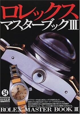 Rolex Master Book <3> (Green Arrow · Graffiti) Tankyan - 2001/5 Contents (From ""
