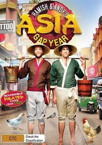 Hamish & Andy - Gap Year Asia (DVD, 2013, 2-Disc Set)  R4..NEW & SEALED   D2455
