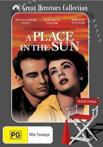A-Place-In-The-Sun-1951-Montgomery-Clift-Elizabeth-Taylor-NEW-DVD
