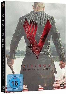 Vikings - Season / Staffel 3 - DVD / Blu-ray (komplette Serie auf deutsch) *NEU*