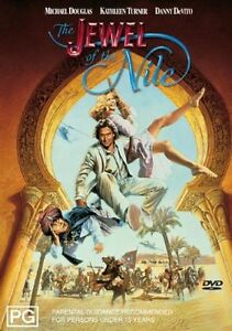 The Jewel Of The Nile (1985) Michael Douglas, Kathleen Turner - NEW DVD - R4