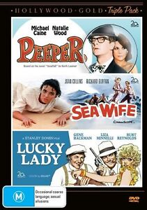 F22 BRAND NEW SEALED Hollywood Gold Peeper / Sea Wife / Lucky Lady (DVD, 2012)