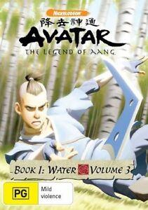 Avatar - The Last Airbender - Water : Book 1 : Vol 3 DVD Sealed      L5
