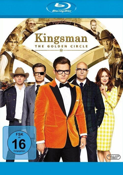 Kingsman - The Golden Circle - Blu Ray