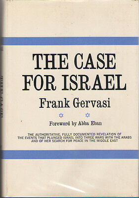 The Case for Israel by Abba Eban and Frank Gervasi - First Edition