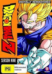 Dragon Ball Z Remastered Uncut Season 9 (Eps 254-291) NEW R4 DVD