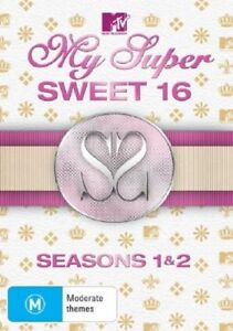 My Super Sweet 16: Seasons 1 and 2 (DVD, 2008, 2-Disc Set) R4, NEW AND SEALED