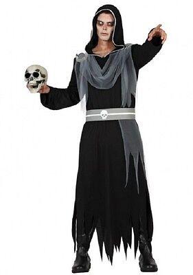 Déguisement Homme MAITRE des ENFERS Noir X/L Médiéval Halloween NEUF pas cher - Halloween Pas Cher