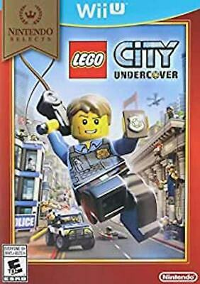 Lego City Undercover Nintendo Selects (Nintendo Wii U) - COMPLETE