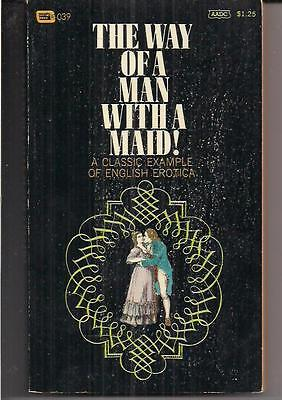 THE WAY OF A MAN WITH A MAID ~ CENTURY 039 1967 K.D.S. ANONYMOUS ~ (The Way Of Man With A Maid)