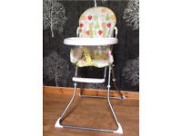 John Lewis Baby/ Toddler/ Children's Highchair £10