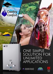 Country Comfort LPG Gas Portable Camp Instant Hot Water Shower Heater