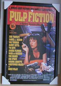PULP FICTION COVER framed POSTER Ready to Hang LICENSED POSTER IN FRAME