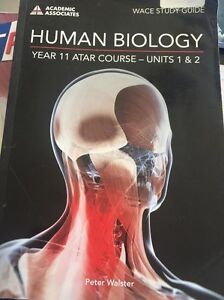 HUMAN BIOLOGY ATAR COURSE- UNITS 1 AND 2 Claremont Nedlands Area Preview