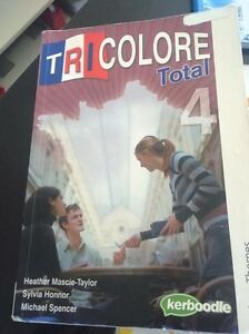 TRICOLORE TOTAL 4 Textbook Claremont Nedlands Area Preview