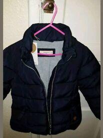Mango Girls winter coat 7-8 years