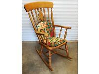 Beech rocking chair,and beech chair.