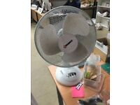 Reduced Price - Desk Fan 12 inch; Various Models in White