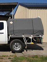 Custom Canvas canopy with frame, suit dual cab tray. Gloucester Gloucester Area Preview
