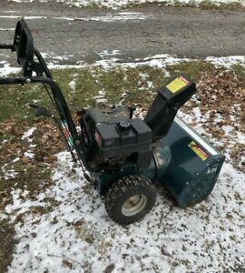 Dynamark 8/24 snowblower just tuned-free delivery
