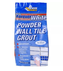 Forever white wall tile grout - 3kg