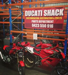 DUCATI SHACK eBay Store, Stock & Warehouse For Sale Bayswater Bayswater Area Preview