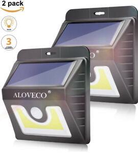 BRAND NEW 2-Pack Motion Sensor Outdoor Solar Lights