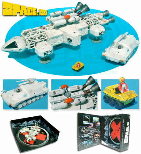 Space 1999 - Product Enterprise Deluxe Eagle Gift Set - Transporter  Moon Buggy