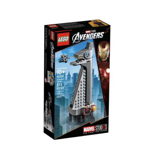LEGO Marvel Avengers Avengers Tower - 40334 NEU OVP
