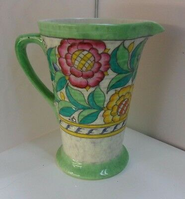 CHARLOTTE RHEAD CROWN DUCAL PERSIAN ROSE JUG/VASE