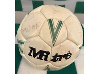 Signed Celtic Centenary Football 1987/88