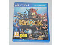 SONY PLAYSTATION PS4 GAME THE KNACK PAL 12 DOLBY DIGITAL HD GEM MAN & INSERT BOX