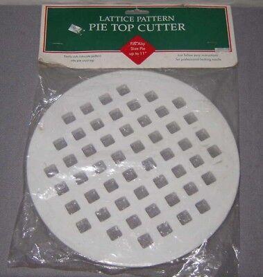 Pie Top Cutter Lattice Pattern 11