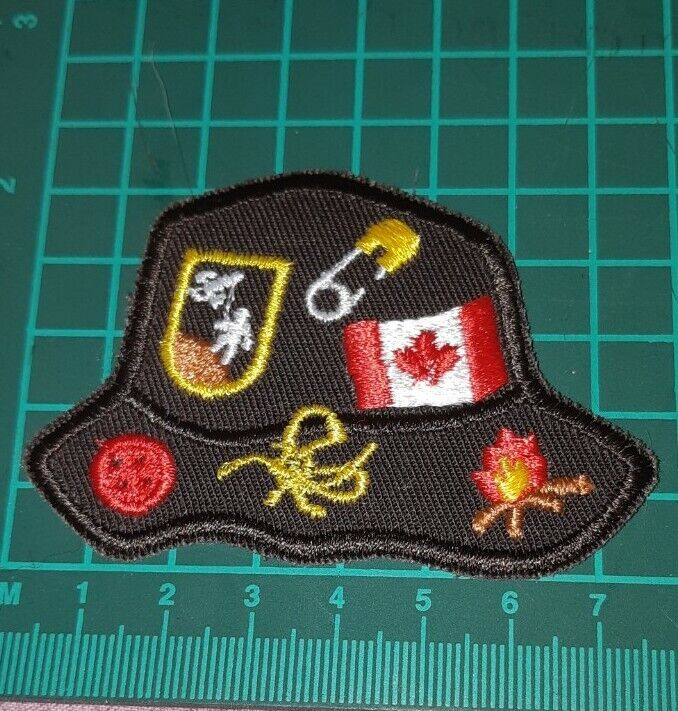 Brownie Guide Hat Shaped Badge