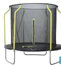 Plum 8ft trampoline with enclosure BRAND NEW SEALED BOX SEE PHOTOS