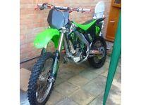 KXF 250 motocross dirtbike