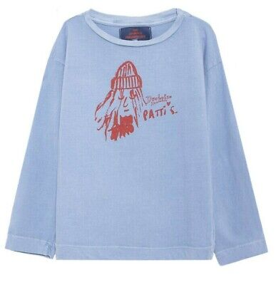 The Animals Observatory Girls or Boys Patti Smith Octopus T-Shirt Size 6