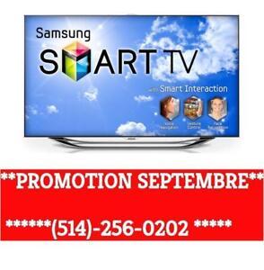 TV TELEVISION SMART TV 4K TV  **PROMOTION SEPTEMBRE 2017 ** TV LED SAMSUNG TV LG TELEVISEUR AUX *MEILLEURS PRIX GARANTIE