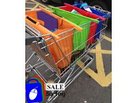 Brand New Strong Trolley Bag (It makes shopping easier)