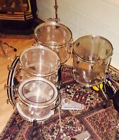 Ludwig Vistalite 1976 Shell Pack