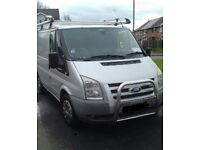 Ford transit 08 T280 110 2.2 swb low roof 2008 IRISH REG PLATE cheap van px may be considered