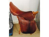 General Purpose Leather Saddle