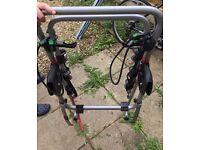 Halfords bike rack.