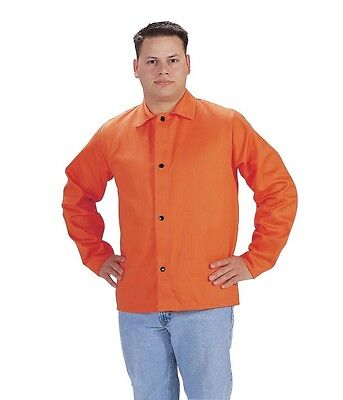 Tillman 6230d Welding Jacket 30 9 Oz. High-visibility Orange Fr Cotton X-large