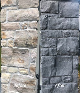 BRICK STAINING - COST-EFFECTIVE WAY TO UPDATE YOUR HOME EXTERIOR