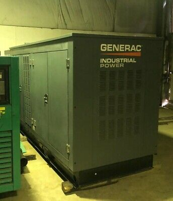 Generac 150 Kw Natural Gas Generator W90 Hours 2015