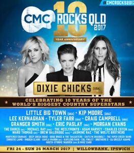 CMC Rocks 3 day pass tickets x 2 Ipswich Ipswich City Preview