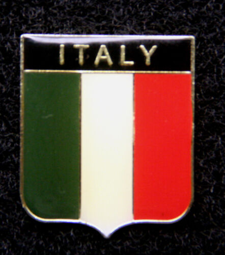 ITALIAN HAT LAPEL VEST PIN UP TIE TAC ITALY FLAG GIFT TRADE SOUVENIR ITALIA WOW1