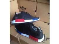 Adidas Mnd's Black Trainers Available